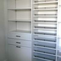 Drawers, shelves and shoes !